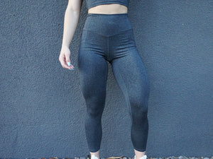 CORE-FIT™ V2 Flex Leggings - Speckled Black