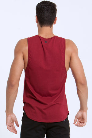 Basics: Lifestyle Tanks - MAROON