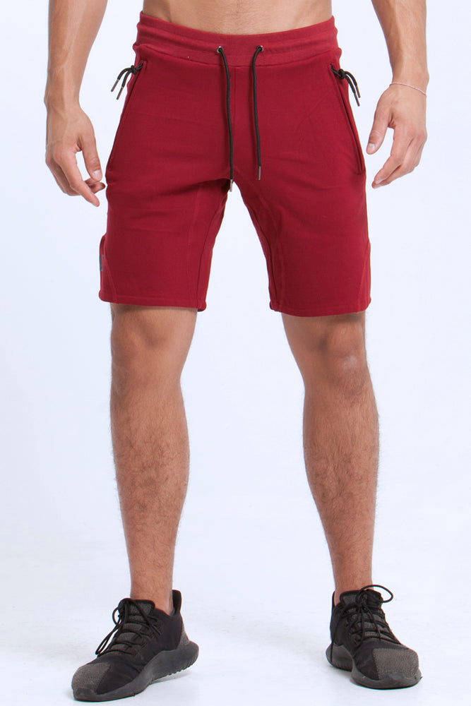 Basics: Shorts - MAROON