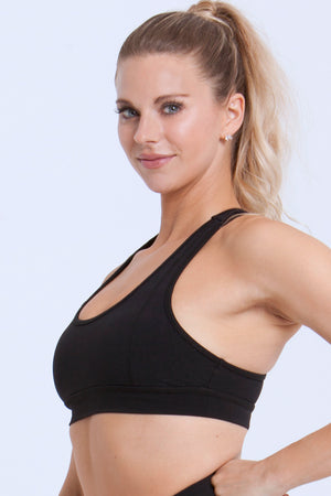 Essentials: Sports Bras - BLACK