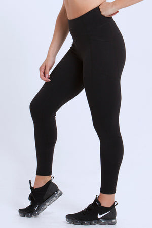 Essentials: Leggings - BLACK