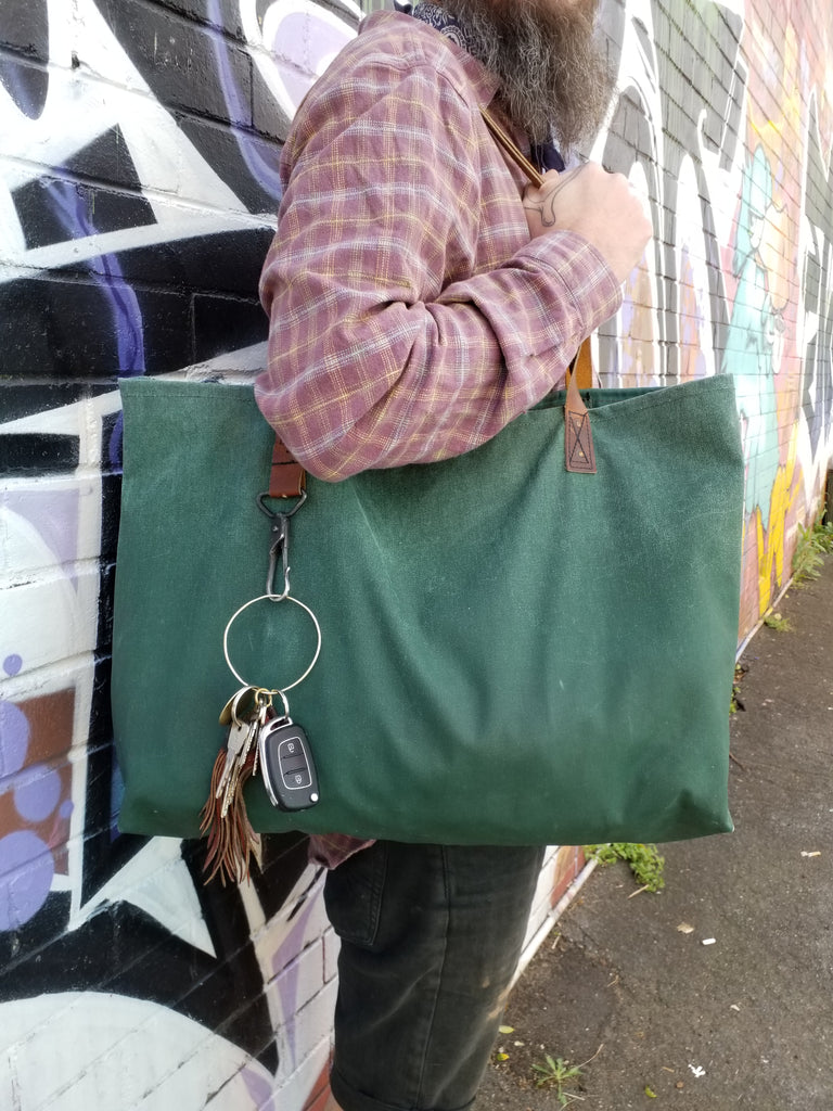 Reclaimed Canvas Tote