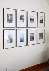 Framed Gallery Walls Symmetrical Square -8 frames