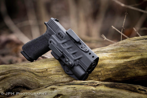 Keroman v2 glock light bearing AIWB ( APPENDIX CARRY )