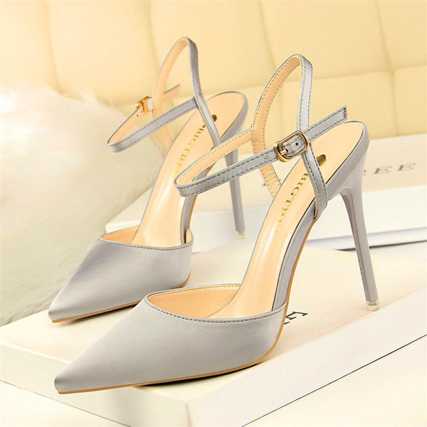 Thin Heels Concise Women Sandals