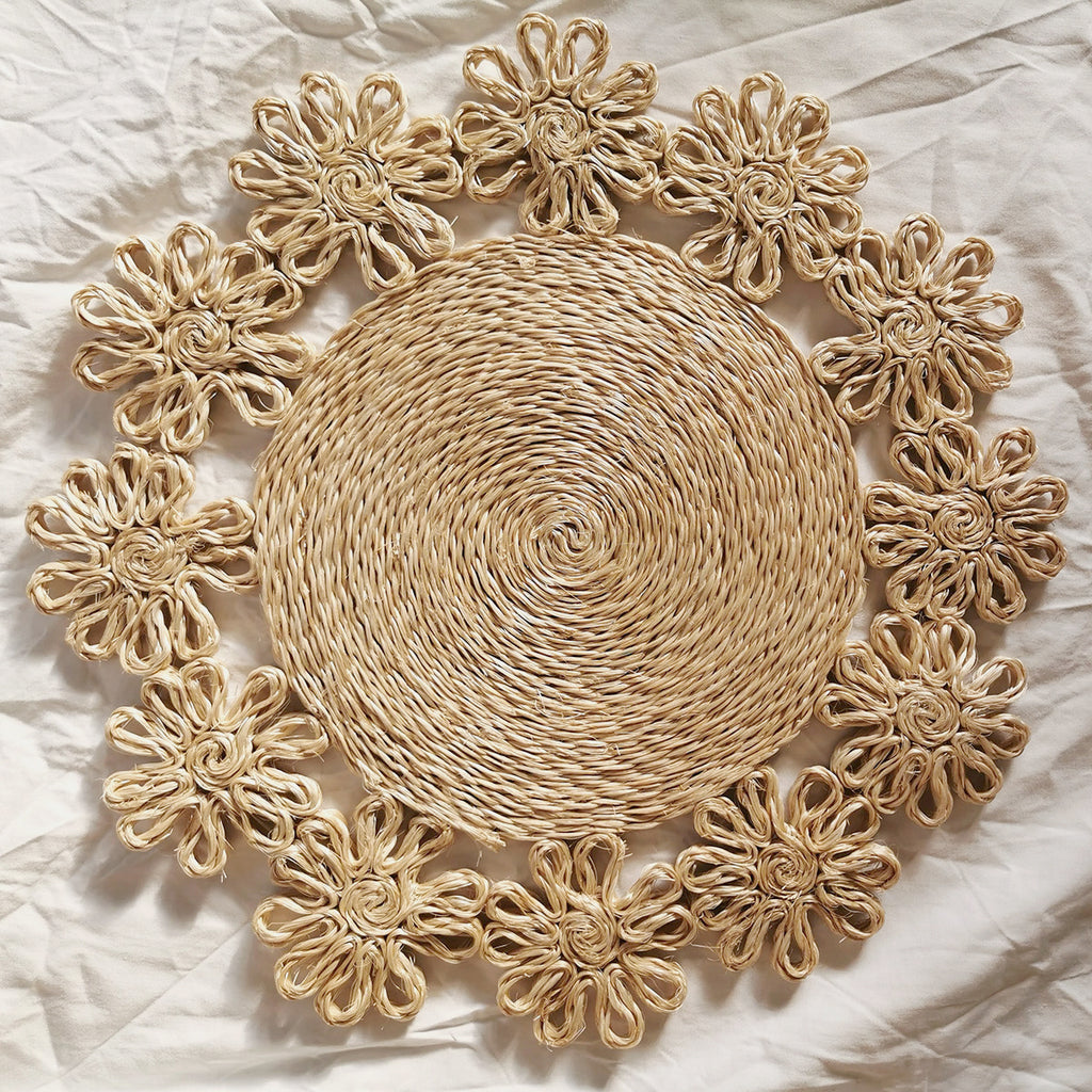 Sampaguita Placemats (Set of 4)