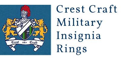 Crest Craft Military Insignia Rings