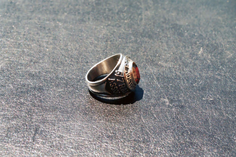 5/7 RAR Association Ring (shown not fully polished)