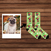 Custom Dog Socks / Custom face Socks / Custom Photo Socks / Custom Pet Socks / Put Your Face on Socks