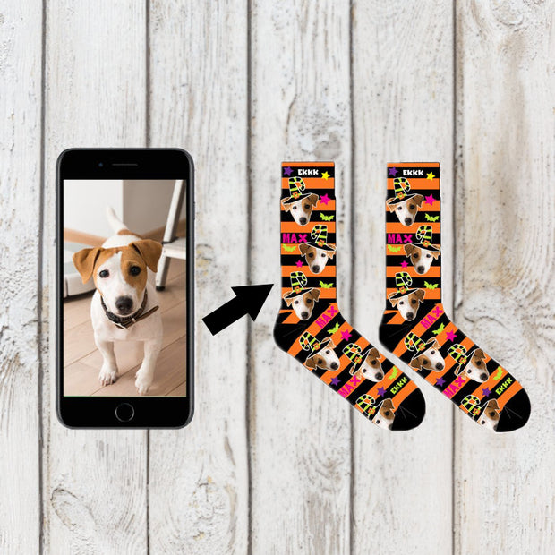 Custom Photo Socks / Custom face Socks / Custom Dog Socks