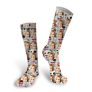 Custom Halloween Socks / Custom Halloween Photo Socks / Put Your Face on Socks