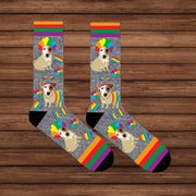 Custom dog Socks / Custom Pet Socks / Custom Photo Socks