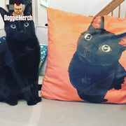 Custom Oil Painting Cushion of Your Pet