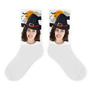 Custom Halloween Photo Socks - Halloween Gifts / Custom Socks / Custom Photo Socks / Personalized Socks With Photo