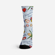 Custom Socks with Your Face Personalized Funny Socks Valentine's Day