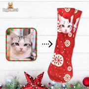 Personalized Christmas Socks With Your Pet's Face
