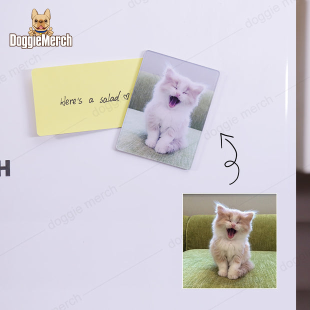 Personalized Fridge Magnet Of Your Pet