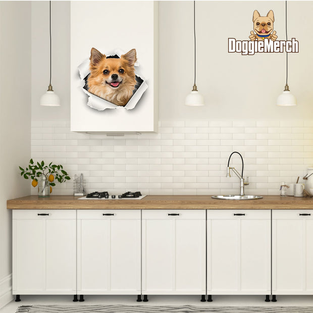 Custom 3D Sticker With Your Pet's Face