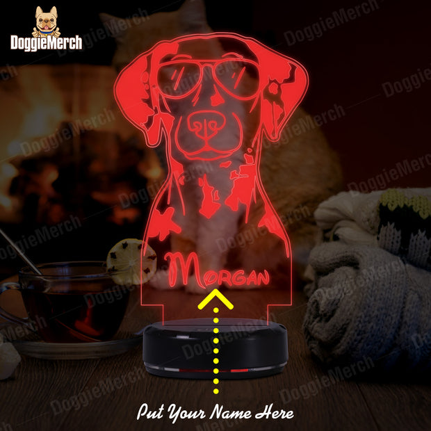 Personalized Dog LED Lamp (Morgan)