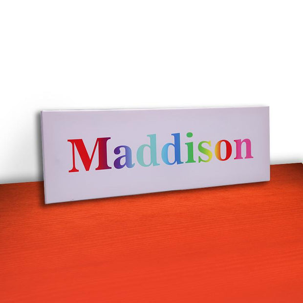 Personalized Rainbow Name Light