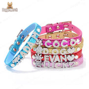 Personalized Character Collar of Your Pet's Name