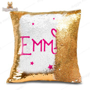 Personalized Name Sequins Pillow