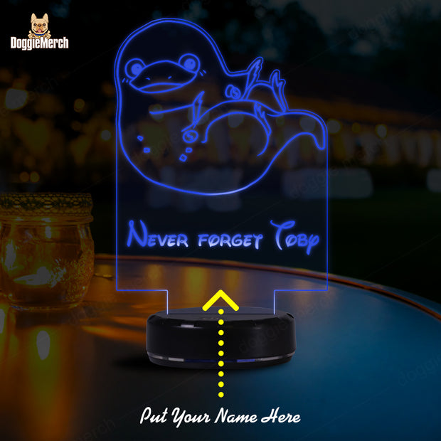 Personalized Name LED Lamp (Niffler)