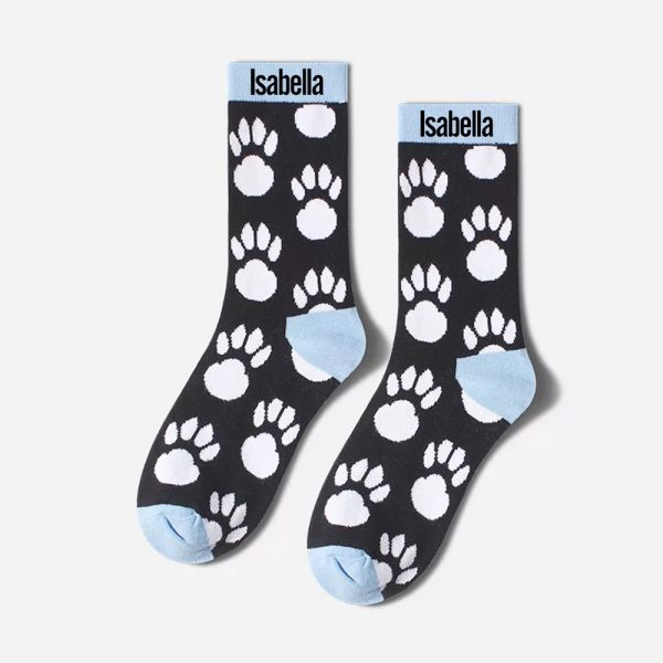 Custom Socks Funny Socks Mens Socks Women's Sock / Personalized Animal Name Socks