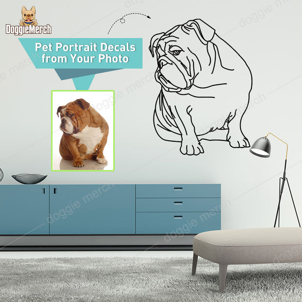 Custom Wall Decal of Your Pet