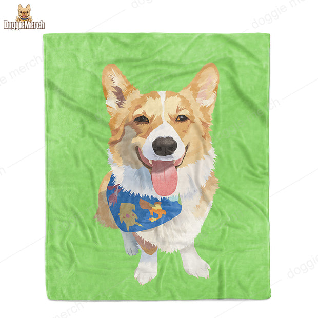 Custom Oil-Painting Fleece Blanket of Your Pet