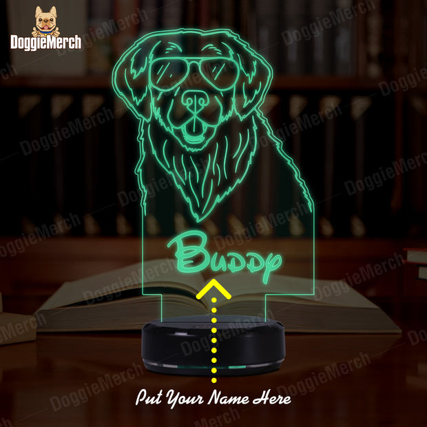 Personalized Dog LED Lamp (Buddy)