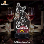 Personalized Dog LED Lamp (Charlie)