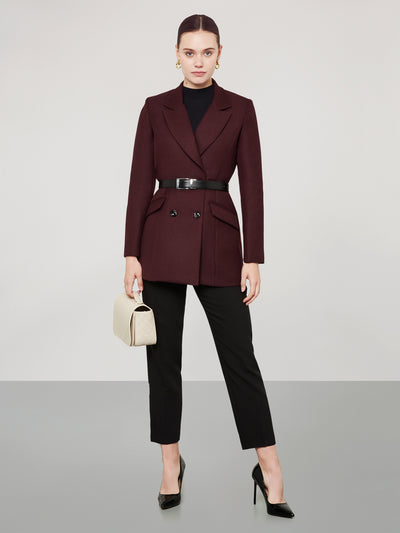 Burgundy Dress Jacket