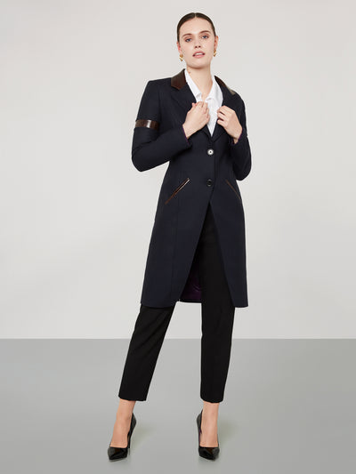 Navy Temptation Coat