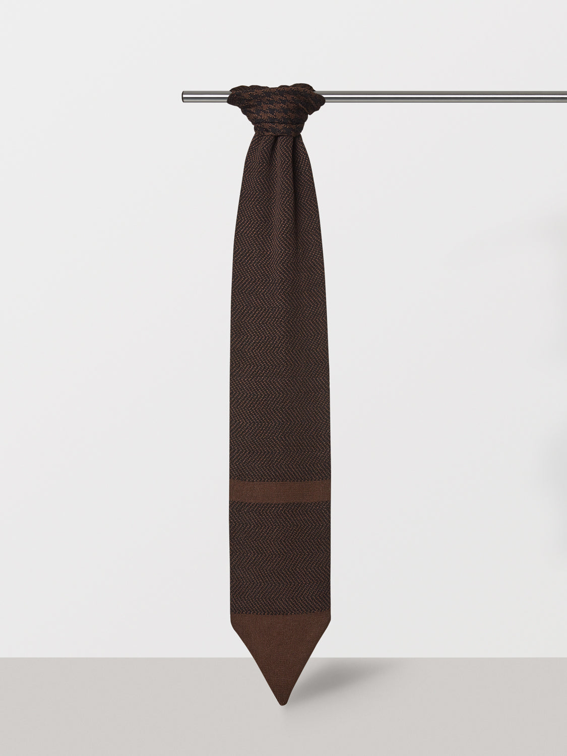 Brown Male Sophistication Scarf