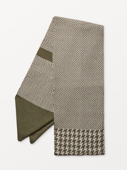 Green Male Sophistication Scarf