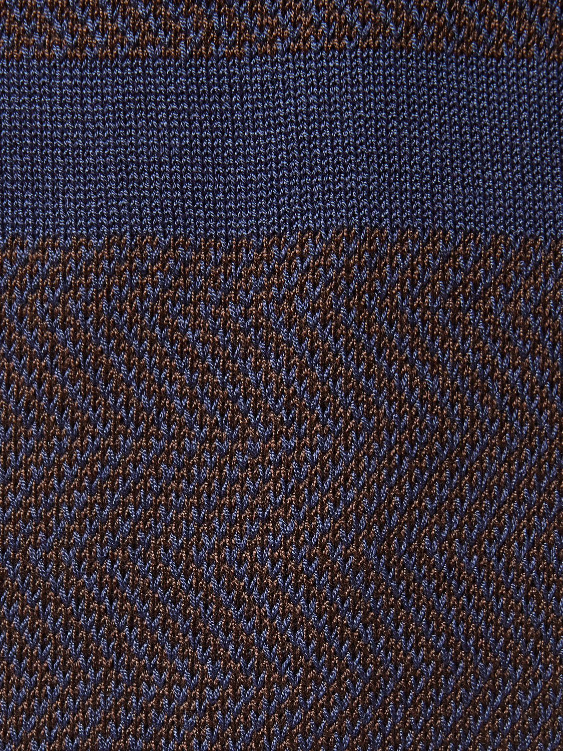 Navy/Brown Male Sophistication Scarf