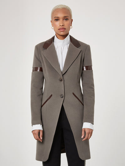 Grey Temptation Coat
