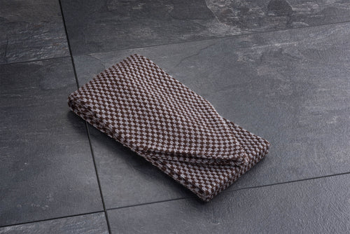 Male Grey/Brown Merino Scarf