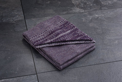 Purple Merino Scarf