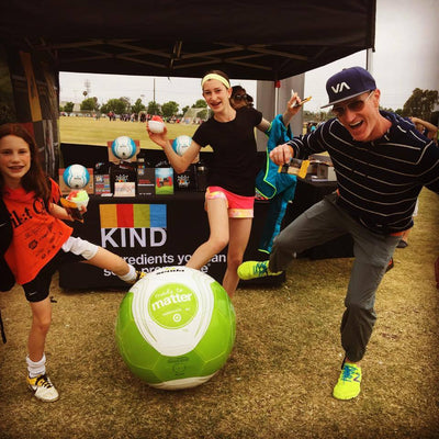 "KIND & Senda: #MadeToMatter Partners for ""Play Kind"" Campaign in Soccer"
