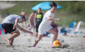3 Benefits of Playing Beach Soccer