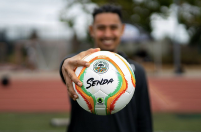 Introducing the Oakland Roots by Senda Fair Trade Soccer Ball
