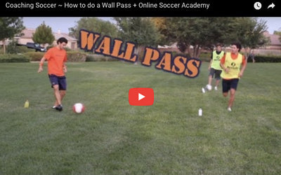 How to do a wall pass, thanks to OnlineSoccerAcademy.com