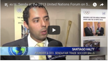 Senda at the UN Forum on Sports and Peace