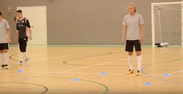 FUTSAL TRAINING SERIES TO ELEVATE YOUR GAME: DIRECTIONAL SOLE ROLL VIDEO SERIES