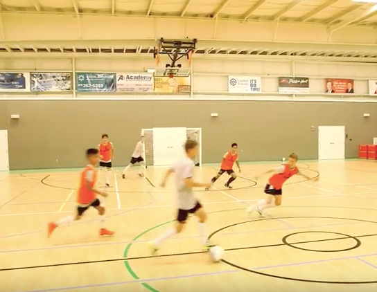 b68c82b81 Futsal Training Series to Elevate your Game  Receiving