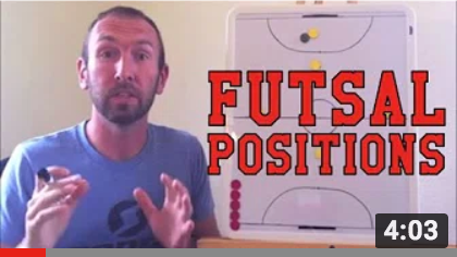Futsal Training Series: Futsal Positions