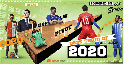 FutsalFeed Best Team of 2020 Awards Powered by Senda Athletics