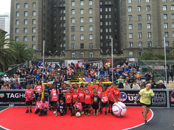 Street Soccer USA Union Square Cup in San Francisco